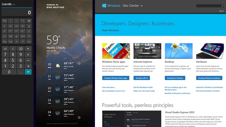 Apps y tienda de Windows